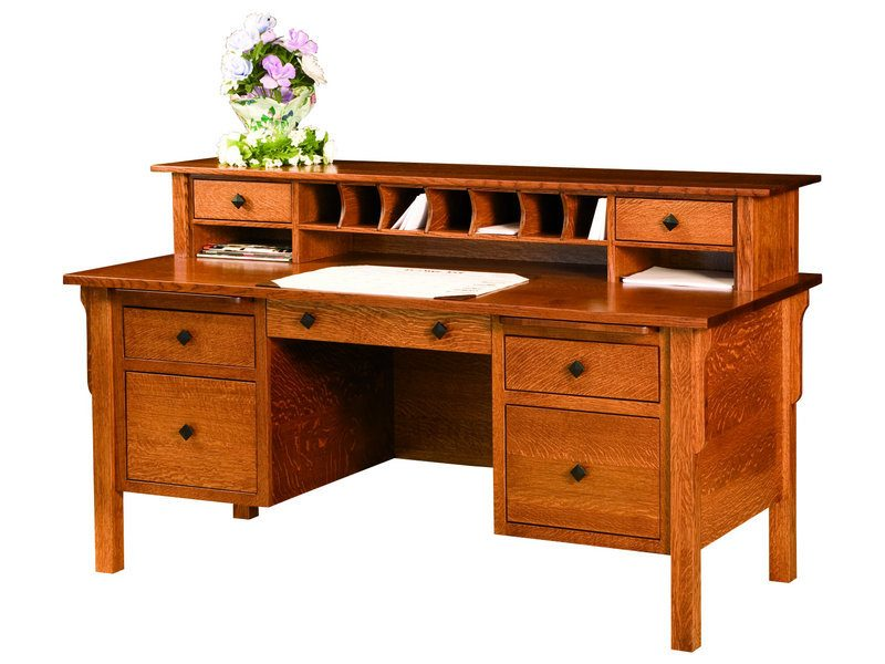 Amish Centennial Flat Top Desk