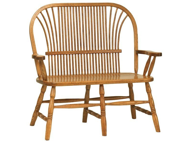 Amish Country Sheaf Bench