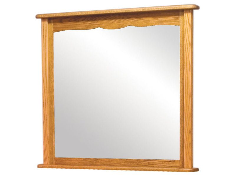 Amish French Country Cherry Mirror