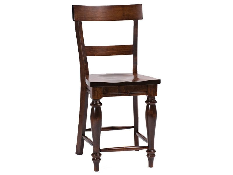 Amish Harvest Bar Chair