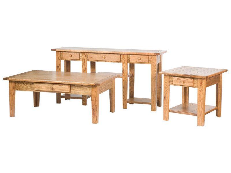 Custom Homestead Occasional Table Set