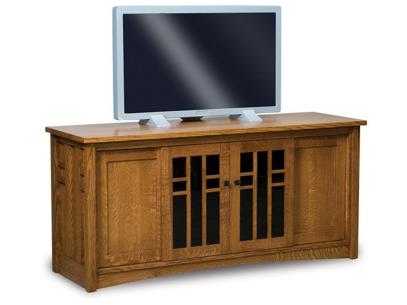 Amish Kascade Four Door LCD Stand
