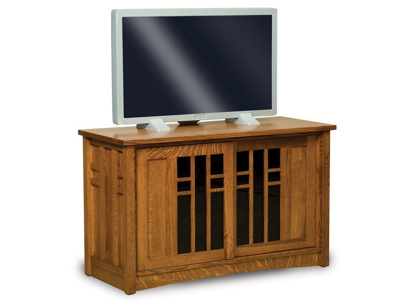 Amish Kascade Two Door LCD Stand