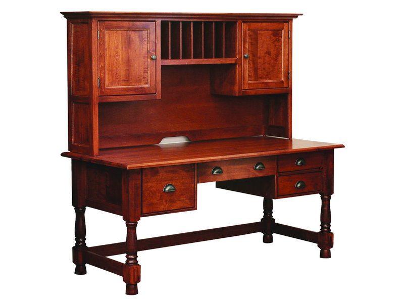 Amish Lincoln Computer Desk