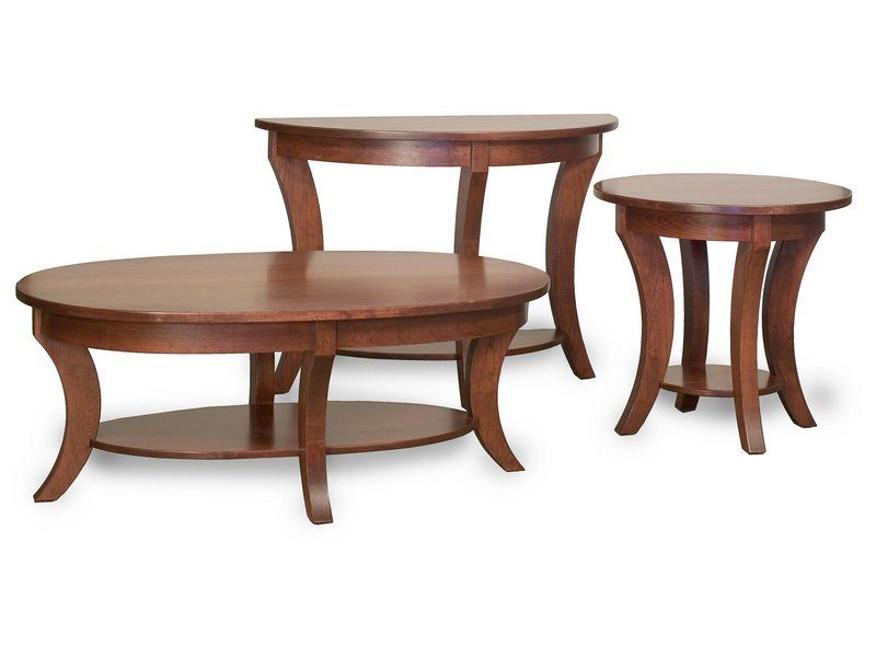 Custom Madison Collection Occasional Table Set