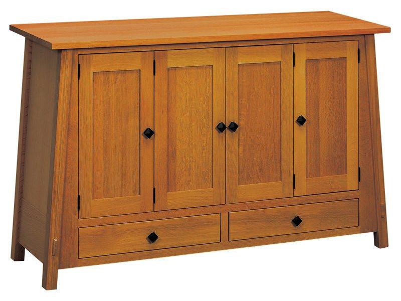 Amish McCoy Leaf Storage Cabinet