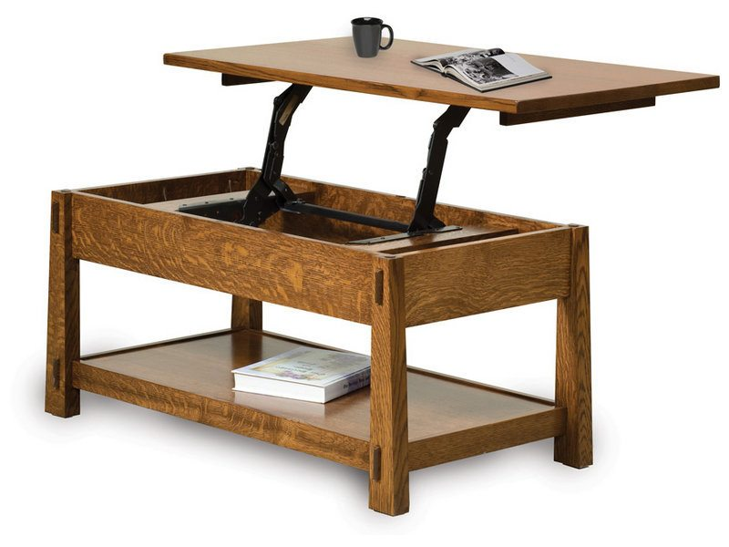 Amish Modesto Lift Top Coffee Table