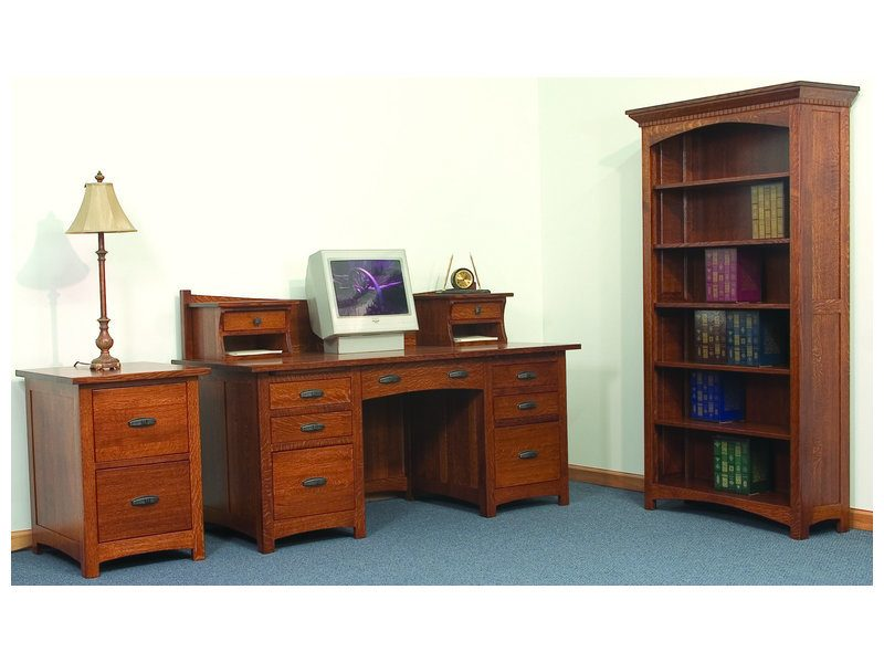Amish Oakwood Office Set
