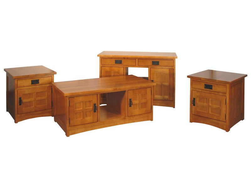 Weaver Mission Coffee Table Set