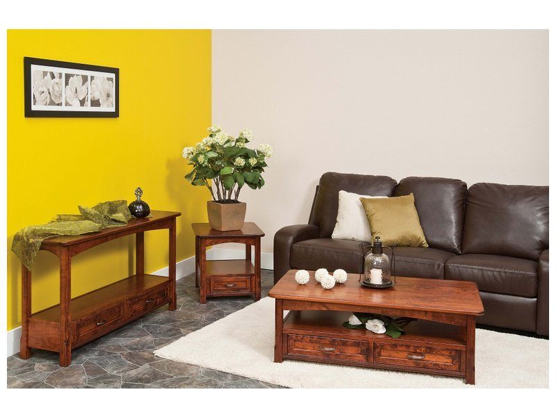 Amish West Lake Open Living Room Setting