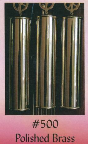 #500 Polished Brass Weight Set