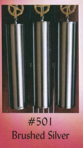 #501 Brushed Silver Weight Set